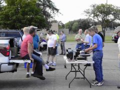 Fort Wayne Radio Club hosts a tailgate hamfest every August