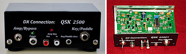 QSK 2500 full break-in device for HF amplifies designed and sold by FWRC member Bill Rodgers, K3HZP