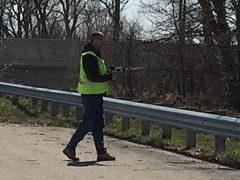 Fort Wayne Radio Club April 2016 fox (hidden transmitter) hunt