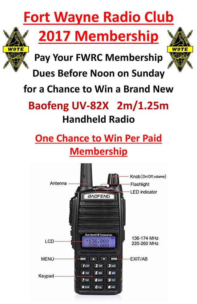FWRC Membership Renewal Poster 2017