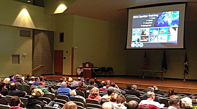 SKYWARN training Fort Wayne February 2016