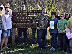 Fort Wayne Radio Club Nov 2016 fox hunt group