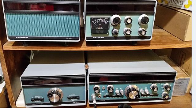 Vintage Heathkit ham radio HF station to be auctioned by Fort Wayne Radio Club