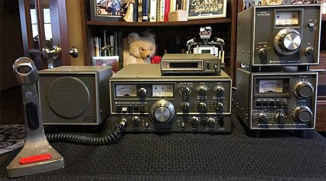 Vintage Kenwood ham radio HF station to be auctioned by Fort Wayne Radio Club
