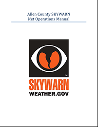Allen Co SKYWARN Net Operations Manual cover thumbnail