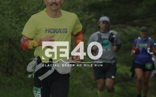 Glacial Esker 40 Ultramaraton banner image