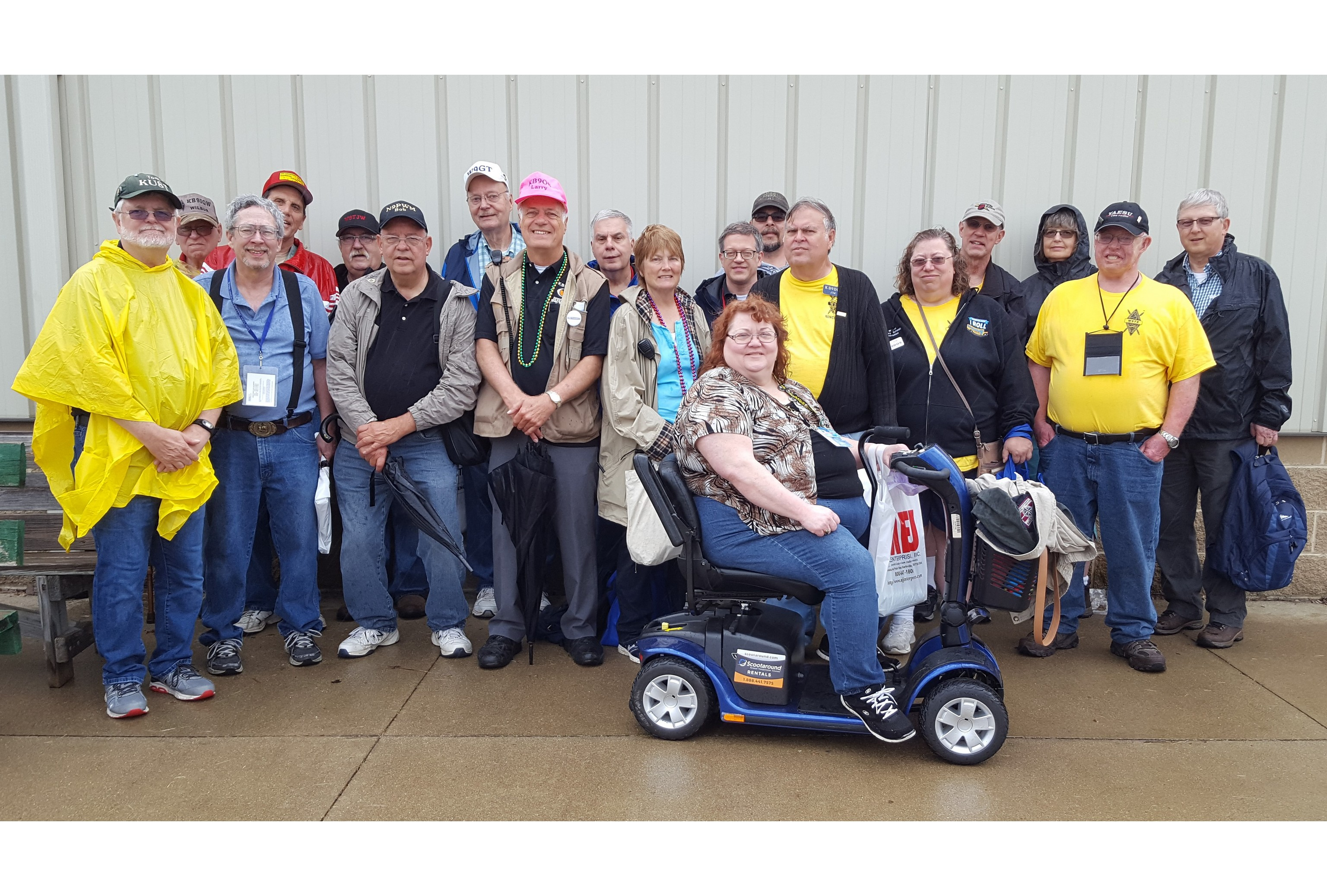 Fort Wayne Radio Club Members at the 2018 Dayton HamVention